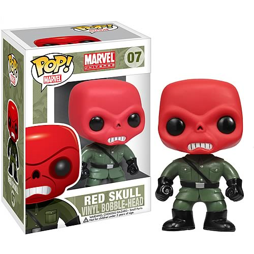 Image result for red skull pop figure