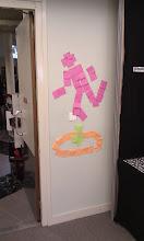 Photo: Un post-it art de Portal
