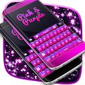 Keyboard Pink And Purple icon