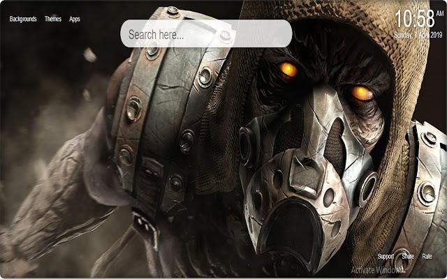 Mortal Kombat X New Tab Wallpaper