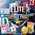 Season 9 Free Elite Royal Pass & UC Battle Game icon