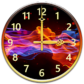 Fire Clock Widget