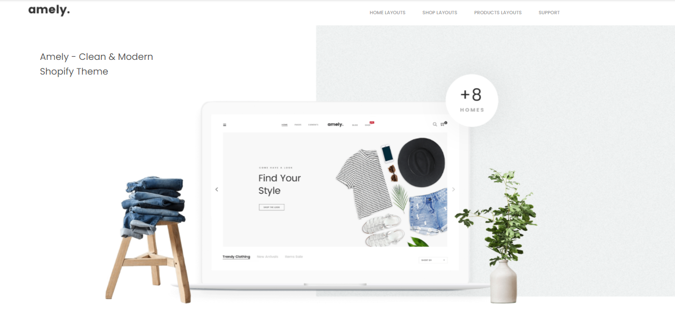 Amely - Shopify bookstore theme