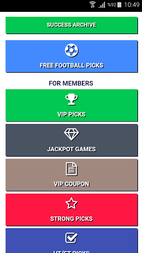 FOOTBALL PREDICTIONS by Soccer Platform (Google Play, United