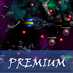 Space Shooter : AsaP Bullet Hell Blue Icon