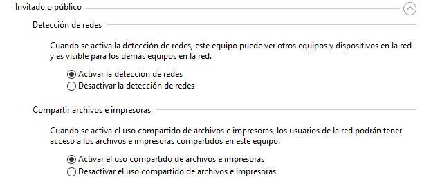 carpetas en red con windows 10