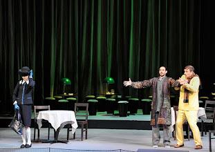 Photo: WIENER STAATSOPER: DON PASQUALE. Inszenierung: Irina Brook. Premiere: 26.4.2015. Valentina Nafornita, Alessio Arduini, Michele Pertusi. Copyright: Barbara Zeininger.