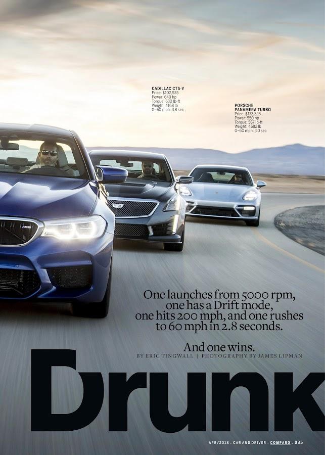 Car and Driver Magazine- screenshot