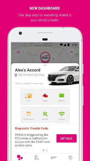 T-Mobile SyncUP DRIVE 3.6.3.6 screenshots 1