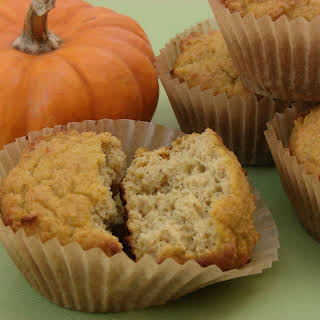 Coconut Flour Pumpkin Muffins.