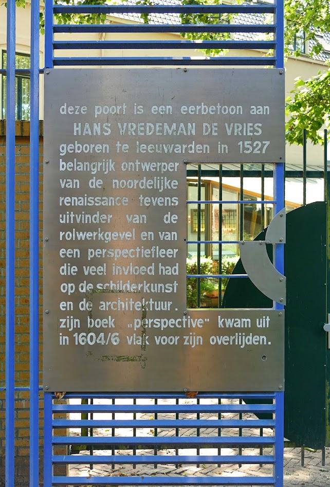 Aangeboden door: Stichting Microtoerisme InZicht Fotoblog Leeuwarden Hans Vredeman Vries