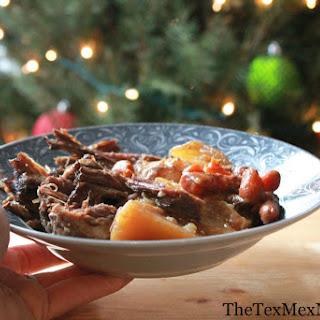 Pot Roast in a Crock-Pot.