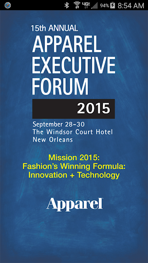 Apparel Executive Forum