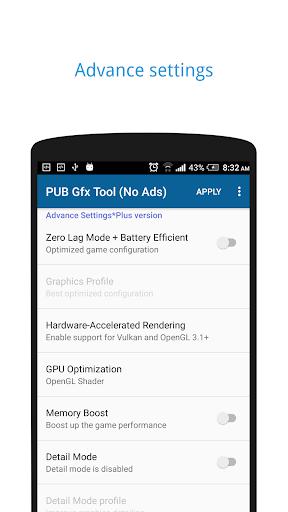 PUB Gfx Tool Freeud83dudd27(No Ads) NOBAN 0.7.3 screenshots 3