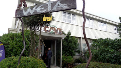 Photo: Richard Taylor and Peter Jackson formed WETA Pictures, the second largest employer in New Zealand and the largest animation studio in the world.