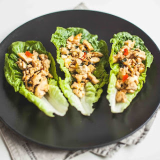 Tofu Stir-fried with Thai Basil