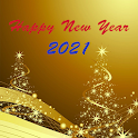 New Year 2021 SMS icon