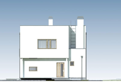 Domo 01 D - Elewacja przednia
