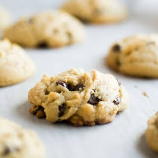 Butterless Chocolate Chip Cookies with Coconut Oil.