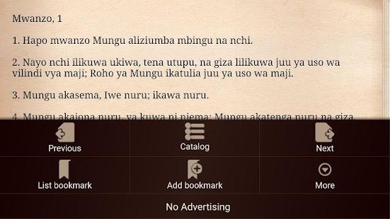 Swahili Bible Biblia Takatifu For Pc Windows 7 8 10 Mac Free Download Guide