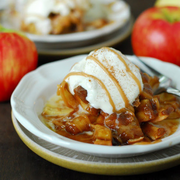Bloomin Baked Apples Recipe