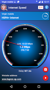 Real Internet Speed Test- screenshot thumbnail