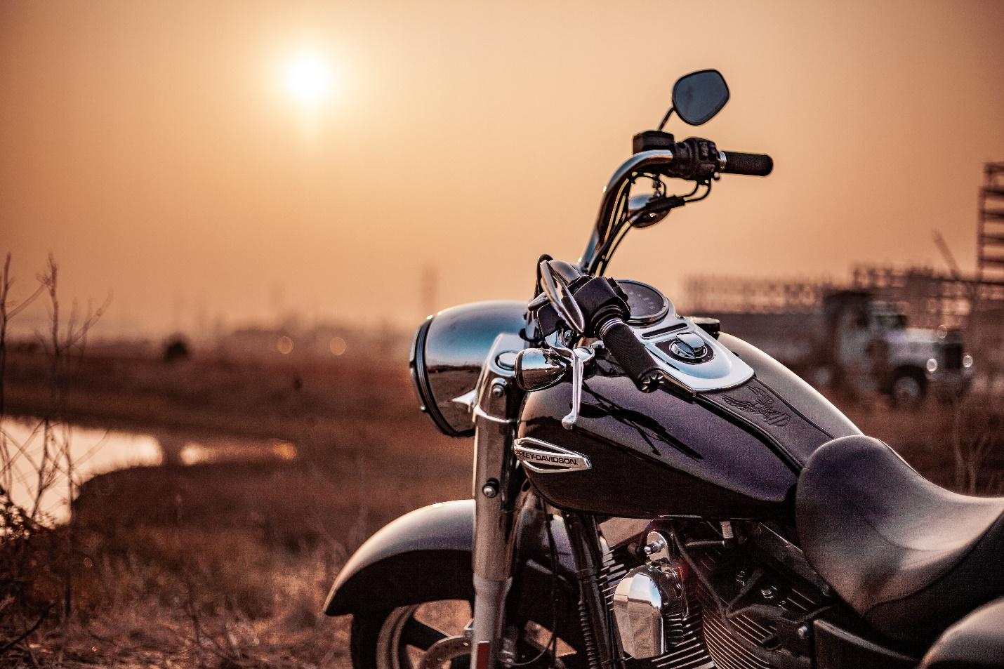 The physics of motorcycle biking