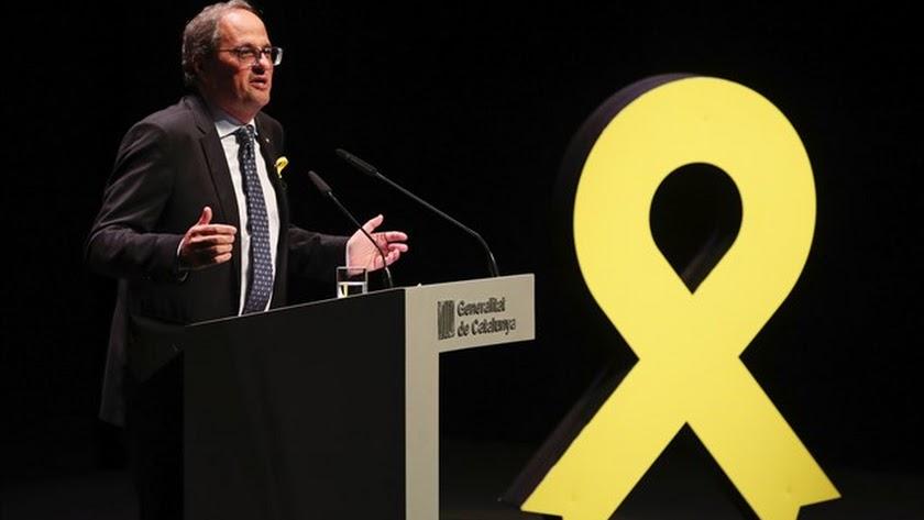 Torra no descarta abrir las cárceles para que salgan los políticos catalanes