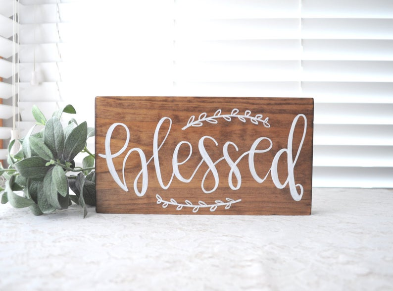 Personalized Wooden Signs: These will help you make some money.