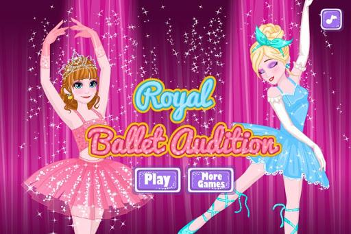 芭蕾演员选拔