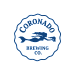 Logo of Coronado Beach Town Brown On Nitro