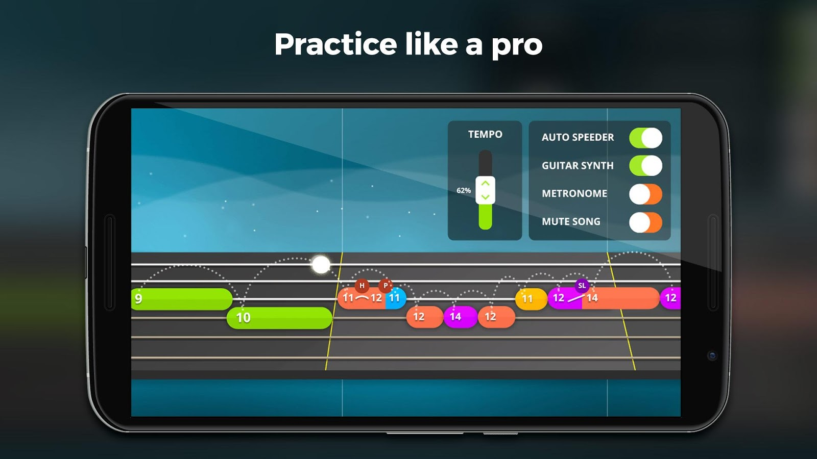 Yousician -  Learn Guitar, Piano, Bass & Ukulele- screenshot