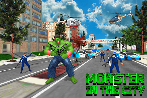 Incredible City Monster Hero Survival Apk 1