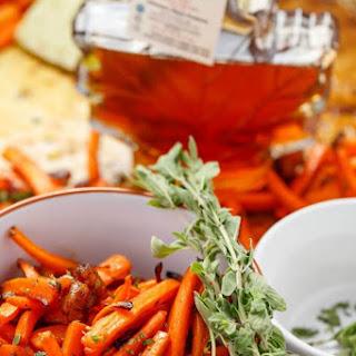 Maple Bacon Carrots.