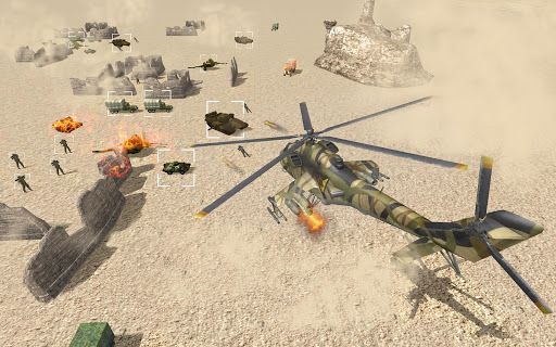 Helicopter Simulator 3D Gunship Battle Air Attack Apk 1