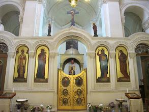 Photo: 232 La Valette, église grecque catholique ND Damas, iconostase