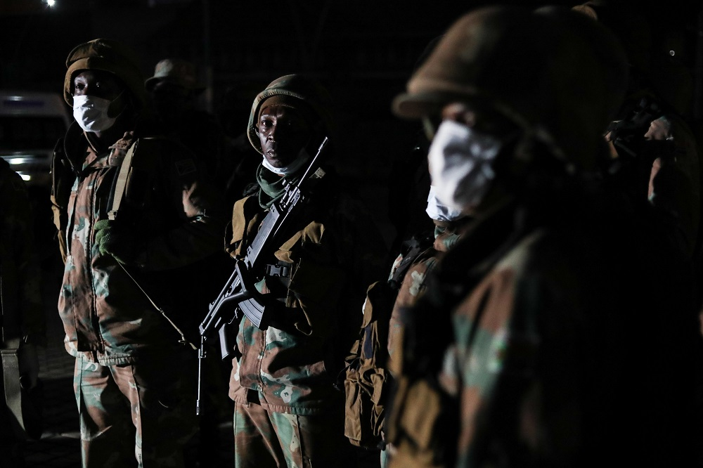 Army deployed for three months at a cost to taxpayers of R641m