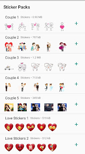 Download Love Couple Sticker WhatsApp For PC Windows and Mac apk screenshot 3