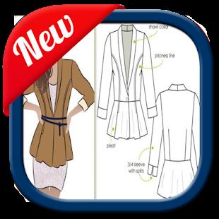 dámské oblečení vzory - náhled