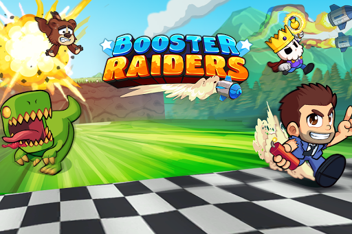 Booster Raiders fond d'écran 1
