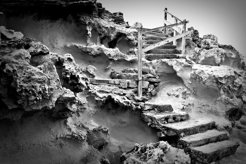 La scala nella roccia di d