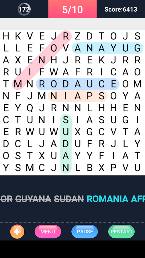 Word Search Puzzle- screenshot