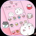 粉色茶杯猫咪桌面主题 icon