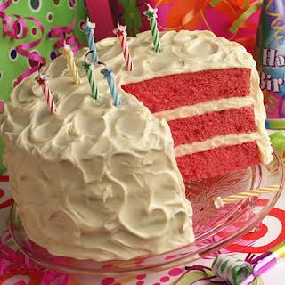 Strawberry Daiquiri Cake.