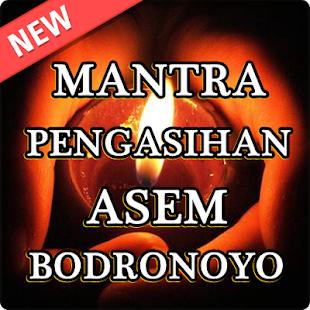 Mantra Pengasihan Asem Bodronoyo - náhled