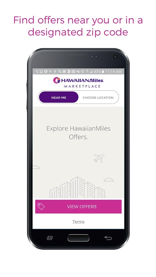 HawaiianMiles Marketplace- screenshot