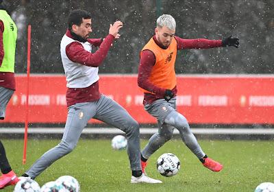 Standard : Selim Amallah absent et deux titulaires incertains avant le match de Coupe contre Seraing