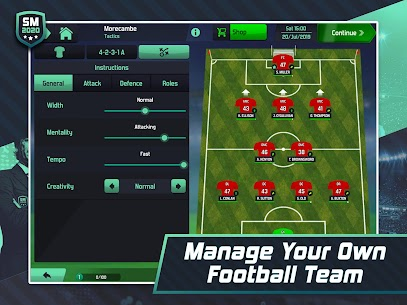 Soccer Manager 2020 – Football Management Game App Download For Android and iPhone 8