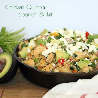 Chicken Quinoa Spanish Skillet Recipe
