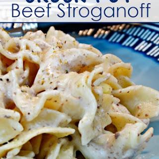 Crock-Pot Beef Stroganoff Recipe